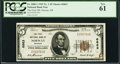 National Bank Notes:Michigan, Norway, MI - $5 1929 Ty. 1 The First NB Ch. # 6863. ...