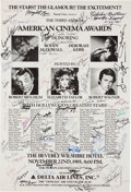 Movie/TV Memorabilia:Autographs and Signed Items, Coming Soon Coming soon...