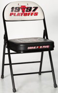 Basketball Collectibles:Others, 1997 Chicago Bulls United Center Stadium Chair.. ...