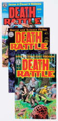 Modern Age (1980-Present):Alternative/Underground, Death Rattle Volume 2 Group of 20 (Kitchen Sink, 1985-88)Condition: Average VF/NM.... (Total: 20 Comic Books)