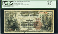 National Bank Notes:Missouri, Saint Louis, MO - $50 1882 Brown Back Fr. 507 The Fourth NB Ch. #283. ...
