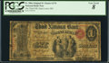 National Bank Notes:Missouri, Saint Louis, MO - $1 Original Fr. 380a The Third NB Ch. # 170. ...