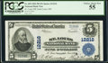 National Bank Notes:Missouri, Saint Louis, MO - $5 1902 Plain Back Fr. 609 St. Louis NB Ch. #12216. ...