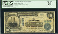 National Bank Notes:Missouri, Clayton, MO - $10 1902 Plain Back Fr. 635 The Clayton NB Ch. #12329. ...