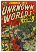 Silver Age (1956-1969):Horror, Journey Into Unknown Worlds #8 (Atlas, 1951) Condition: VG....