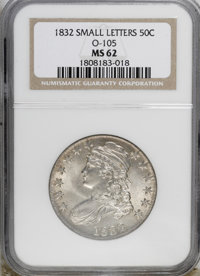 1832 50C Small Letters MS62 NGC....(PCGS# 6160)