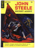Silver Age (1956-1969):Adventure, John Steele Secret Agent #1 (Gold Key, 1964) Condition: VF-....