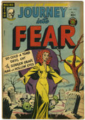 Golden Age (1938-1955):Horror, Journey Into Fear #5 (Superior, 1952) Condition: VG....