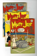 Golden Age (1938-1955):Humor, Mutt and Jeff Group (DC, 1946-48) Condition: Average FN.... (Total: 5 Comic Books)