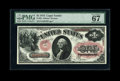 Large Size:Legal Tender Notes, Fr. 26 $1 1875 Legal Tender PMG Superb Gem Unc 67 EPQ....