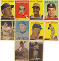 Baseball Cards:Lots, 1957-1958 Topps Baseball Group Lot of 126. Nice collection of 25cards from the 1957 Topps baseball issue and 101 cards from...