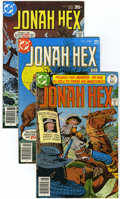 Bronze Age (1970-1979):Western, Jonah Hex Group (DC, 1977-79) Condition: Average VF/NM.... (Total: 12 Comic Books)