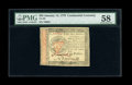 Colonial Notes:Continental Congress Issues, Continental Currency January 14, 1779 $55 PMG Choice About Unc58....