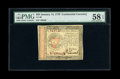 Colonial Notes:Continental Congress Issues, Continental Currency January 14, 1779 $55 PMG Choice About Unc 58EPQ....