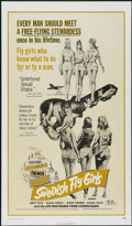 """Movie Posters:Bad Girl, Swedish Fly Girls (Trans American, 1972). One Sheet (27"""" X 41"""").Bad Girl. ..."""