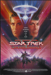 """Star Trek V: The Final Frontier (Paramount, 1989). One Sheet (27"""" X 40""""). Science Fiction"""