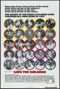 "Movie Posters:Documentary, Save the Children (Paramount, 1973). One Sheet (27"" X 41""). Documentary. ..."