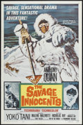 """Movie Posters:Adventure, The Savage Innocents (Paramount, 1960). One Sheet (27"""" X 41"""").Adventure. ..."""