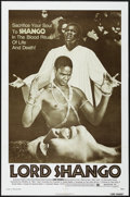"Movie Posters:Blaxploitation, Lord Shango (Bryanston, 1975). One Sheet (27"" X 41""). Black/Horror.Starring Marlene Clark, Lawrence Cook. Directed by Raymo..."