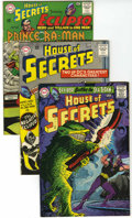 Silver Age (1956-1969):Mystery, House of Secrets Group (DC, 1965-74) Condition: Average VF....(Total: 9 Comic Books)