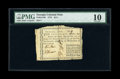 Colonial Notes:Georgia, Georgia 1776 $1/4 PMG Very Good 10....