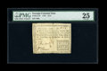 Colonial Notes:Georgia, Georgia 1776 $1/2 PMG Very Fine 25....