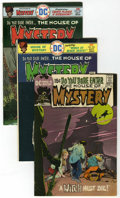 Bronze Age (1970-1979):Horror, House of Mystery Group (DC, 1971-81) Condition: Average FN/VF....(Total: 10 Comic Books)