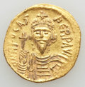 Ancients:Byzantine, Ancients: Phocas (AD 602-610). AV solidus (4.49 gm). AU,cleaned....