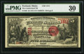 National Bank Notes:Maine, Portland, ME - $5 1875 Fr. 402 The Cumberland NB Ch. # 1511. ...