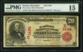 National Bank Notes:Maryland, Easton, MD - $20 1902 Red Seal Fr. 639 The Easton NB of Maryland Ch. # (E)1434. ...