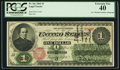Large Size:Legal Tender Notes, A.U. Wyman Courtesy Autograph Fr. 16c $1 1862 Legal Tender PCGSExtremely Fine 40.. ...