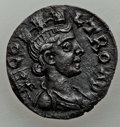 Ancients:Roman Provincial , Ancients: TROAS. Alexandria. Northwest Asia Minor (Turkey), nearTroy. 3rd century AD. AE as (4.11 gm). AU, adjusted flan....