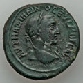 Ancients:Roman Provincial , Ancients: THRACE. Anchialus. Maximinus I Thrax (AD 235-238). AE25(11.20 gm). VF....