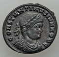 Ancients:Ancient Lots , Ancients: ANCIENT LOTS. Roman Imperial. Lot of three (3)Constantine Era (AD 307-337) AE3 or reduced folles.XF-AU.... (Total: 3 coins)