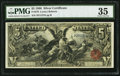 Large Size:Silver Certificates, Fr. 270 $5 1896 Silver Certificate PMG Choice Very Fine 35.. ...