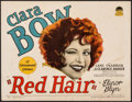 "Movie Posters:Comedy, Red Hair (Paramount, 1928). Title Lobby Card (11"" X 14""). Comedy....."