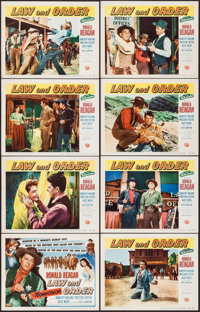 "Law and Order (Universal International, 1953). Lobby Card Set of 8 (11"" X 14""). Western. ... (Total: 8 Items)"