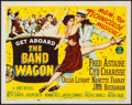 "Movie Posters:Musical, The Band Wagon (MGM, 1953). Title Lobby Card (11"" X 14""). Musical....."