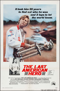 """The Last American Hero & Other Lot (20th Century Fox, 1973). One Sheets (2) (27"""" X 41"""") & Lobb..."""