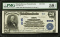 National Bank Notes:Pennsylvania, Elizabethtown, PA - $20 1902 Plain Back Fr. 650 First NB & TCCh. # 3335. ...