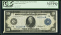 Error Notes:Large Size Errors, Fr. 930* $10 1914 Federal Reserve Note PCGS Very Fine 30PPQ.. ...
