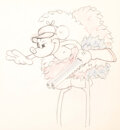 Animation Art:Production Drawing, The Nifty Nineties Mickey Mouse and ...