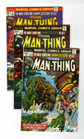 Bronze Age (1970-1979):Horror, Man-Thing Group (Marvel, 1974-75) Condition: Average VF.... (Total:6 Comic Books)