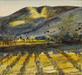 Texas:Early Texas Art - Regionalists, PETER HURD (1904-1984). San Patricio, New Mexico. Watercoloron paper. 8-1/2 x 9 inches (21.6 x 22.9 cm). Signed lower r...