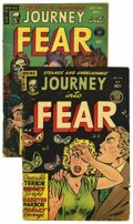 Golden Age (1938-1955):Horror, Journey Into Fear #4 and 9 Group (Superior, 1951-52) Condition:Average GD+.... (Total: 2 Comic Books)