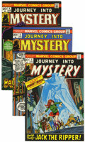 Bronze Age (1970-1979):Horror, Journey Into Mystery Group (Marvel, 1972-74) Condition: AverageVF+.... (Total: 9 Comic Books)