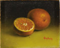 Texas:Early Texas Art - Impressionists, DALHART WINDBERG (b. 1933). Untitled Oranges Miniature. Oil onartistboard. 1-1/2 x 1-1/2 inches (3.8 x 3.8 cm). Signed lowe...