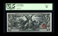 Large Size:Silver Certificates, Fr. 270 $5 1896 Silver Certificate PCGS Gem New 66....