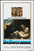 "Movie Posters:Action, Deliverance (Warner Brothers, 1972). One Sheet (27"" X 41""). Action...."