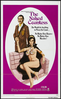 """The Naked Countess (Crown International, 1971). One Sheet (27"""" X 41""""). Adult"""